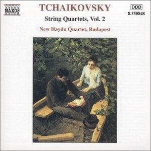 Tchaikovsky: String Quartets Vol.2 album cover