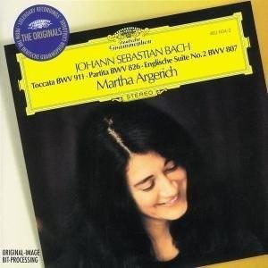 J.S. Bach: Toccata In C Min, Partita In C Min, English Suite No.2 In A Min album cover