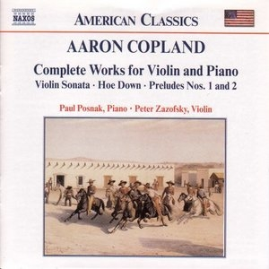 Copland: Complete Works For Violin And Piano album cover
