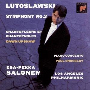 Lutoslawski: Paino Concerto~ Symphony No.2 album cover