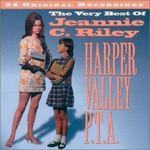 Harper Valley PTA: The Very Best Of Jeannie C. Riley album cover
