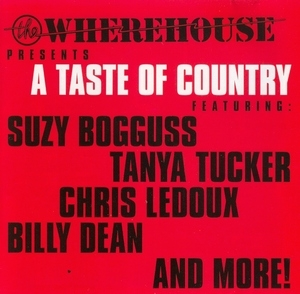 The Wherehouse Presents A Taste Of Country album cover
