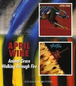 Animal Grace~ Walking Through Fire album cover