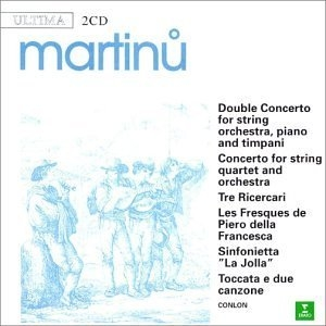 Martinu: Orchestral Works album cover