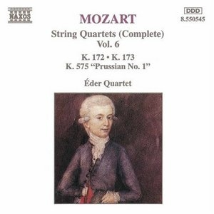 Mozart: Complete String Quartets, Vol.6 album cover