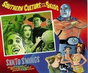 Santo Swings! album cover
