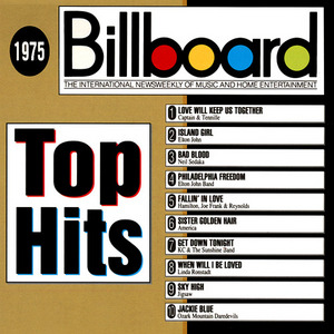 Billboard Top Hits: 1975 album cover