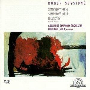 Sessions: Symphonies Nos.4 & 5 album cover