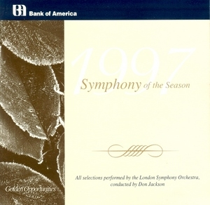 Symphony Of The Season, 1997 (Bank Of America Sampler) album cover