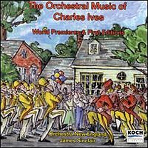 The Orchestral Music Of Charles Ives album cover