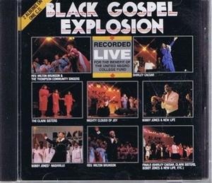 Black Gospel Explosion album cover