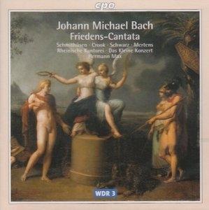JM Bach: Friedens-Cantata album cover