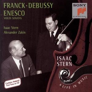 Franck, Debussy, Enesco: Violin Sonatas album cover