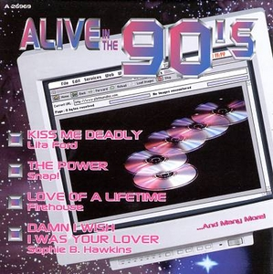 Alive In The 90's, Vol. 2 album cover