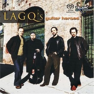LAGQ's Guitar Heroes album cover