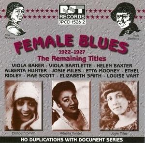 Female Blues: Remaining Titles (1922-1927) album cover
