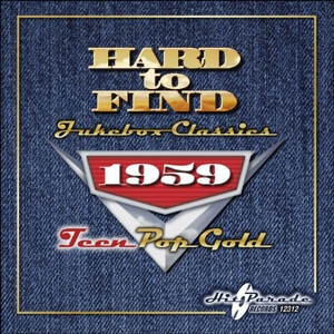 Hard To Find Jukebox Classics 1959: Teen Pop Gold album cover