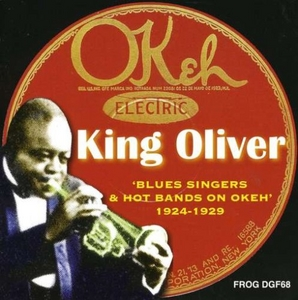 Blues Singers And Hot Bands On Okeh 1924-1929 album cover