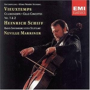 Vieuxtemps: Cello Concertos Nos. 1 & 2 album cover