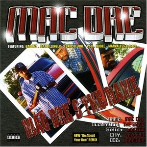 Mac Dre's The Name album cover
