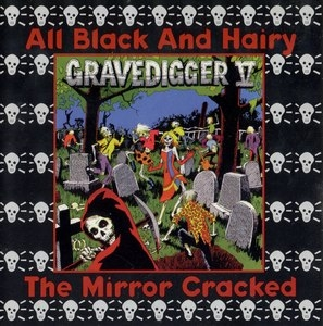 The Mirror Cracked-All Black And Hairy album cover