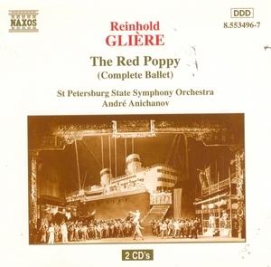 Gliere: The Red Poppy album cover