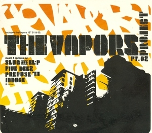 The Vapors Project Pt. 02 album cover
