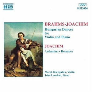 Brahms: Hungarian Dances For Violin And ... album cover