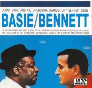 Basie Swings, Bennett Sings album cover