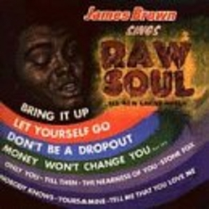 James Brown Sings Raw Soul album cover