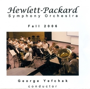 Hewlett-Packard Symphony Orchestra: Fall 2006 album cover