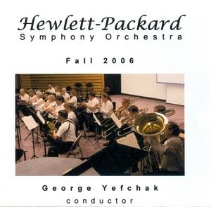 Hewlett-Packard Symphony Orchestra: Fall 2006 album cover