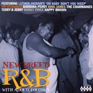New Breed R&B With Added Popcorn album cover
