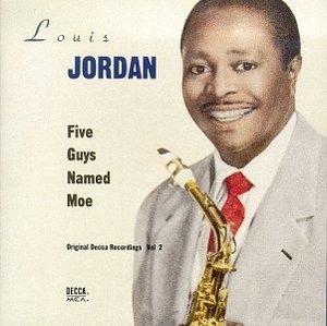 Five Guys Named Moe album cover