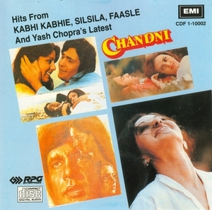 Hits From Kabhi Kabhie, Silsila, Faasle, And Yash Chopra's Latest 'Chandni' album cover