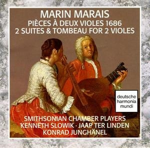 Marais: 2 Suites And Tombeau For 2 Viols album cover