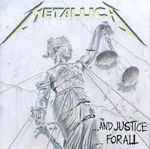 And Justice For All album cover