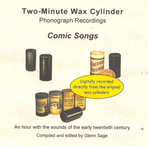 Wax Cylinder: Comic Songs album cover