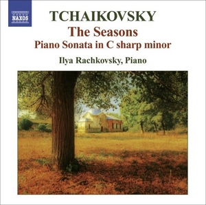Tchaikovsky: The Seasons; Piano Sonata album cover