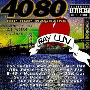 4080 Compilation, Vol. 2: Bay Luv album cover