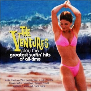 The Ventures Play The Greatest Surfin' Hits Of All Time album cover