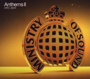 Anthems II: 1991-2009 (Ministry Of Sound) album cover