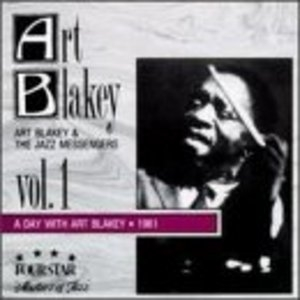 A Day With Art Blakey 1961 album cover