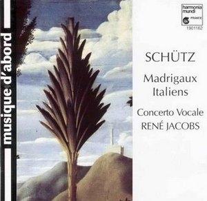Schutz: Madrigaux Italiens SWV1-18 album cover