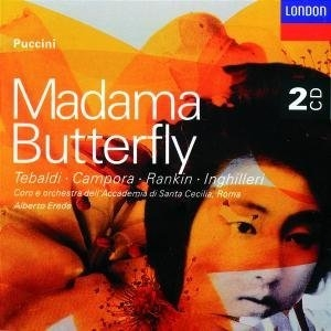 Puccini: Madama Butterfly album cover