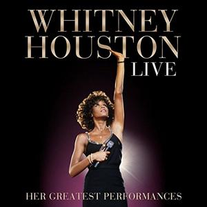 Whitney Houston Live: Her Greatest Performances album cover