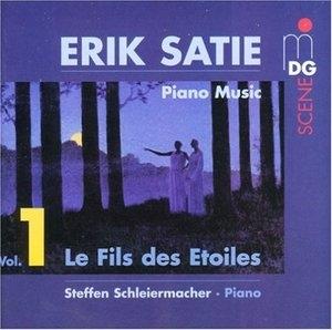 Satie: Piano Music, Vol.1 album cover
