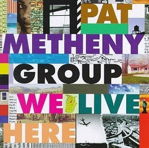We Live Here album cover