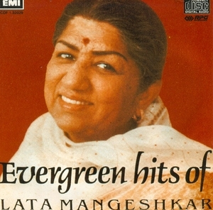 Evergreen Hits Of Lata Mangeshkar album cover