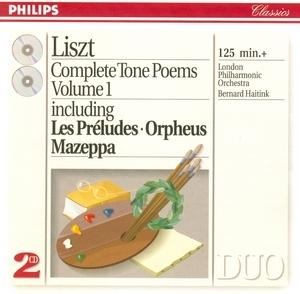 Liszt: Complete Tone Poems Vol.1 album cover
